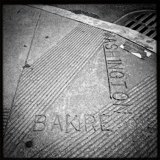 """Bakre"" Street at Washington Street"