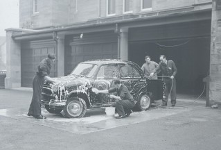 Inverness-shire Constabulary Car Maintenance Course 1963
