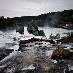 Schaffhausener Wasserwelten: Der Rheinfall