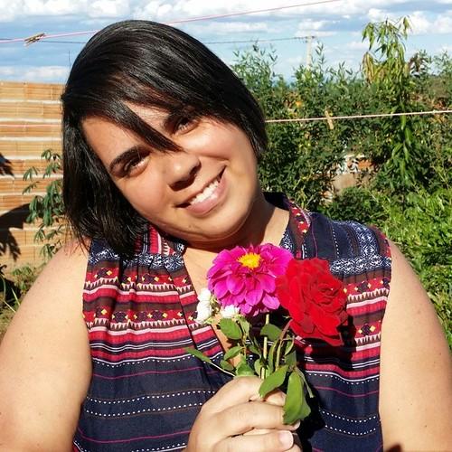 Flores pra vc bb..