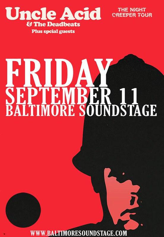 Uncle Acid & The Deadbeats at Baltimore Soundstage