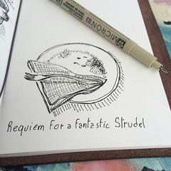 Requiem for a fantastic strudel #Midori #todaysdoodle