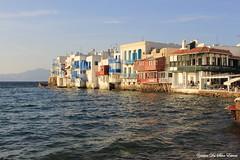 La petite Venise, Mykonos, Cyclades, Grèce