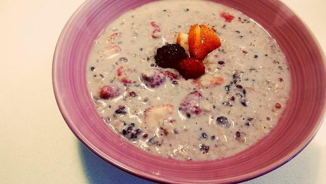 Mixed Berries Porridge Oats