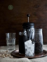 Vegan iced-coffee