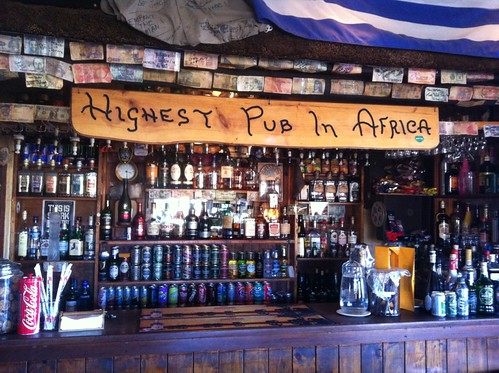 Bar at the Highest Pub in Africa