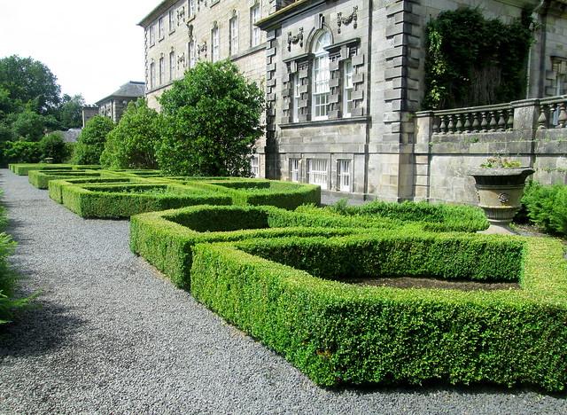 Pollok House  garden