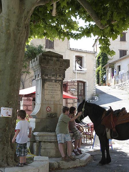 enfants et cheval