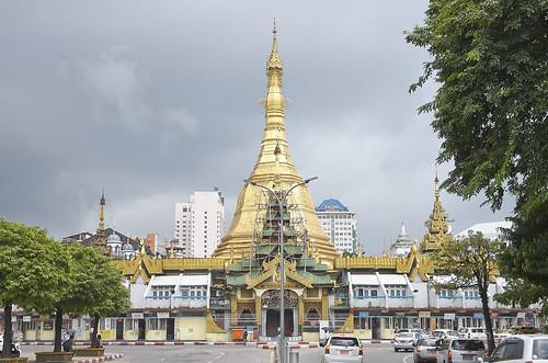 【写真】世界一周 : ヤンゴン・市街地