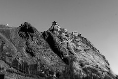 Perched High on the Old Silk Road at Mulbekh in Ladakh