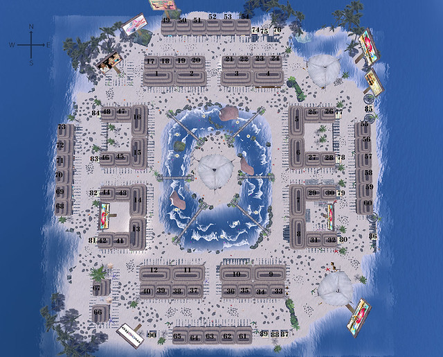 Map of Aloha Fair II - Second Life