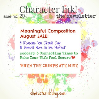 Character Ink Newsletter no. 20