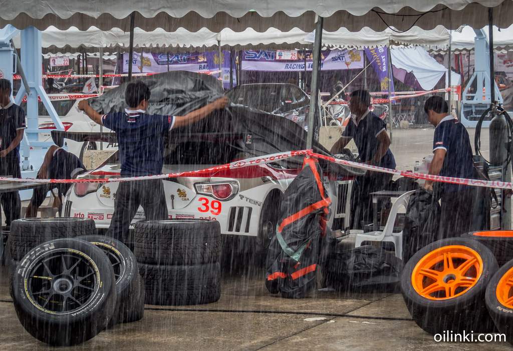 Torrential rains during Phuket race