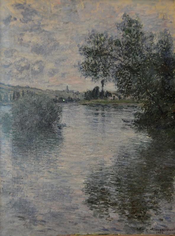 """Rouen (Seine-Maritime) - Musée des Beaux-Arts - """"La Seine à Vétheuil, 1879"""" (Claude Monet, 1840-1926)"""