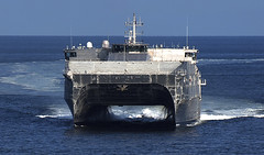 File photo of USNS Fall River (T-EPF 4), the primary mission platform for Pacific Partnership 2017. (U.S. Navy)