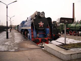 Railway museum, Saint-Petersburg