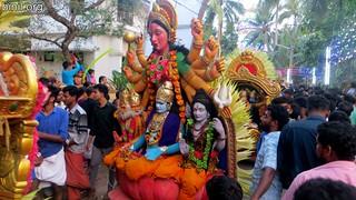 Thrissur Kechery Sree Parappukkavu Bhagavathi Temple Pooram 5