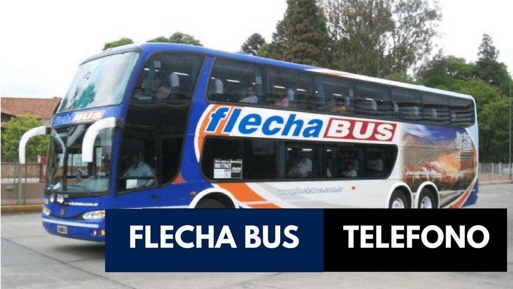 0800 Teléfono Flecha Bus