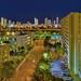 View of the Wynwood/Edgewater Neighborhood skyline, Miami, Florida, USA