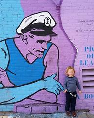 I #JakeWyatt #BK #street #art #fam #love