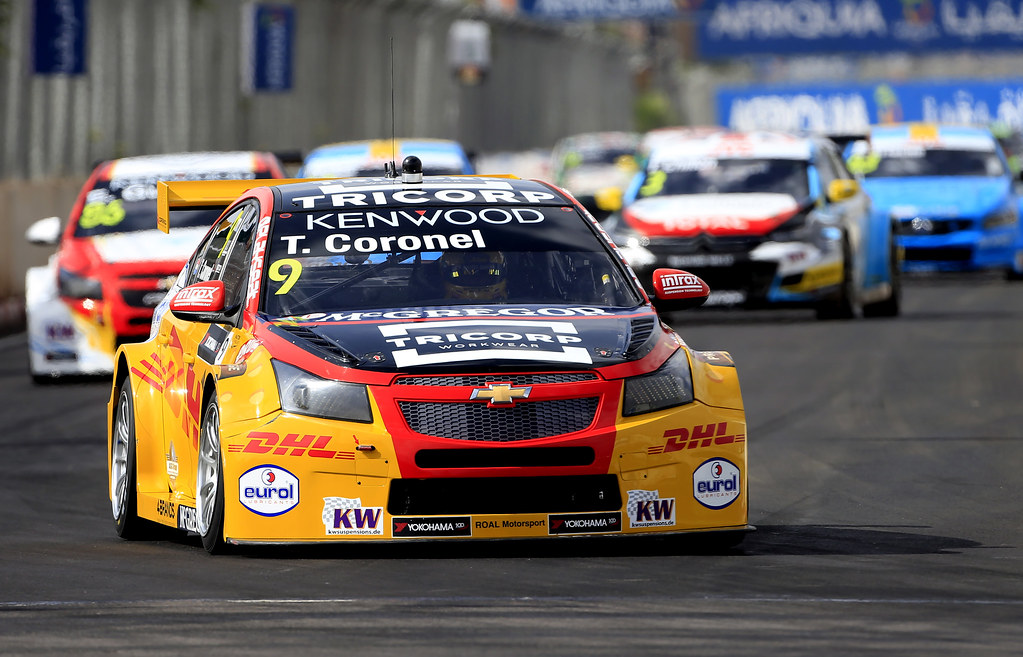 09 CORONEL Tom (ned) Chevrolet RML Cruze team ROAL Motorsport action during the 2017 FIA WTCC World Touring Car Race of Morocco at Marrakech, from April 7 to 9 - Photo Paulo Maria / DPPI