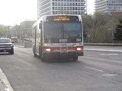 Toronto Transit Commission 8185 on Spadina Subway Shuttle
