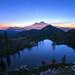 Cliff Dwelling -- Heart Lake & Mount Shasta, CA by Jeff Swanson -- www.interfacingnature.com