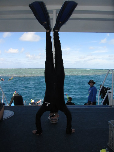 47. great barrier reef headstand