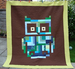 'Owl Love You' wedding quilt
