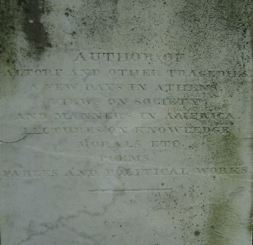 Monument of Frances Wright