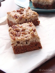 B is for Banana: Cocoa Bottom Banana Pecan Bars