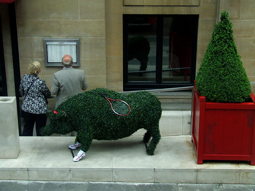 Wimbledon pig