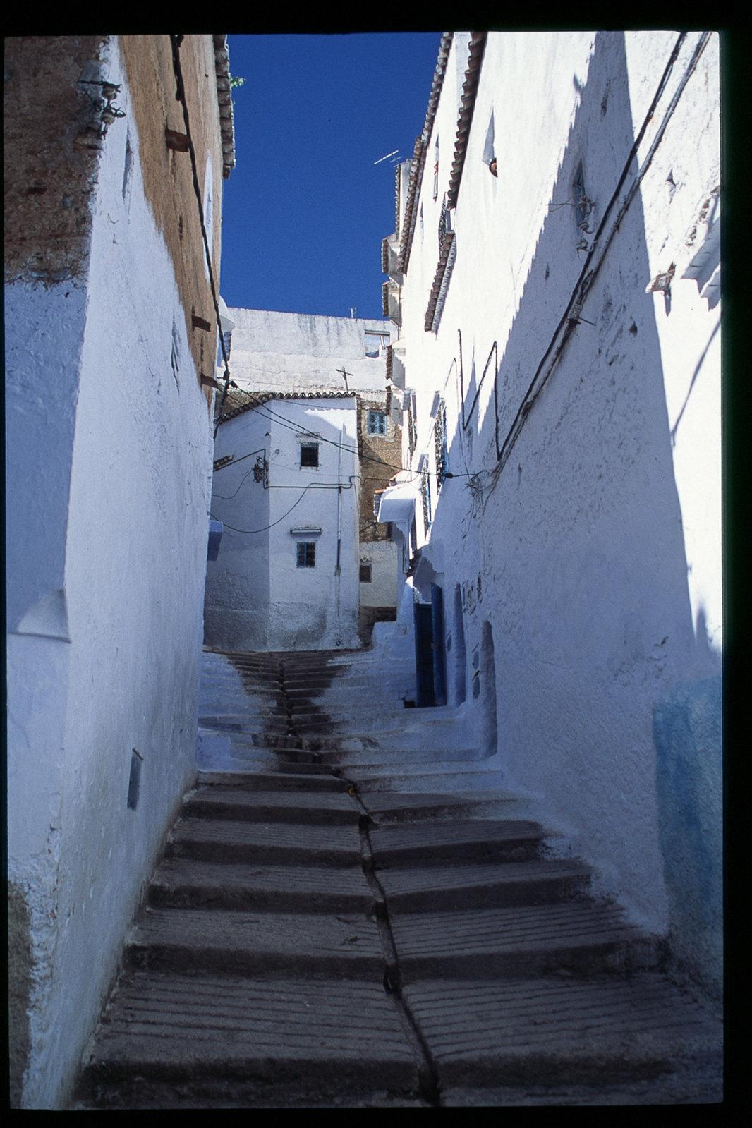 Chefchaouen - Une ville toute en escaliers