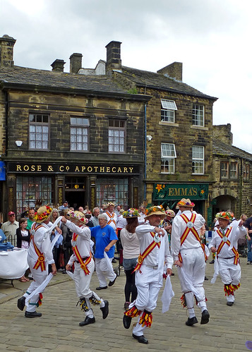 Morris Dancers at Haworth by Tim Green aka atoach