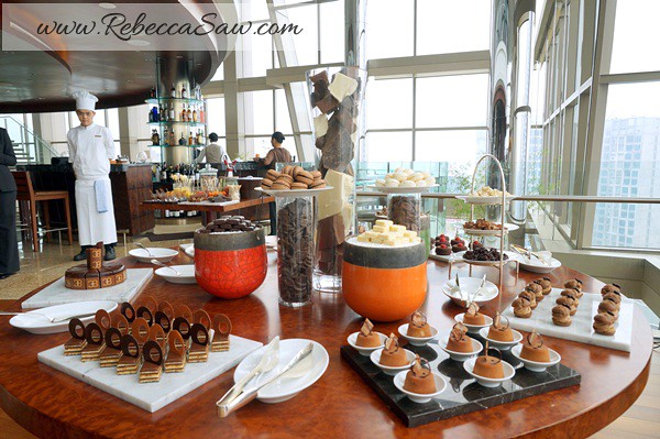 Afternoon Tea, Valrhona Chocolate Buffet -Thirty8, Grand Hyatt KL -003