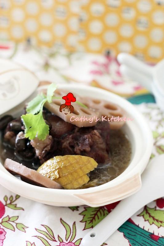 濃郁飄橙香 - 黑豆清燉牛尾湯 Black Bean Oxtail Stew  1
