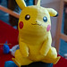 Papercraft de Pikachu à Japan Expo 2013 by zigazou76