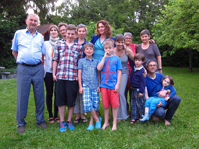 The Stirling Family in Switzerland