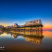 Old-Orchard-Beach-Pier-Colorful-Sunset-Maine by Captain Kimo