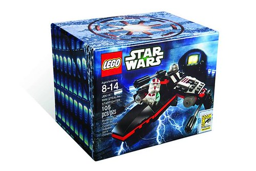 LEGO Star Wars JEK-14 Mini Stealth Starfighter SDCC 2013 Exclusive