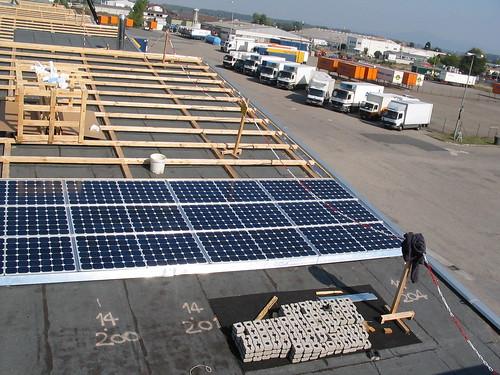 Da liegen die ersten 13 kWp