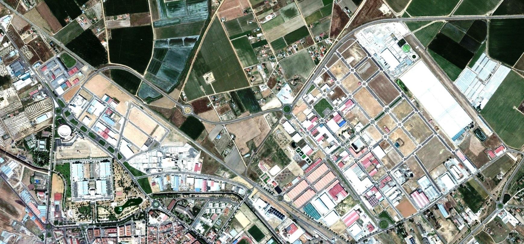 después, urbanismo, foto aérea,desastre, urbanístico, planeamiento, urbano, construcción, Don Benito, Badajoz