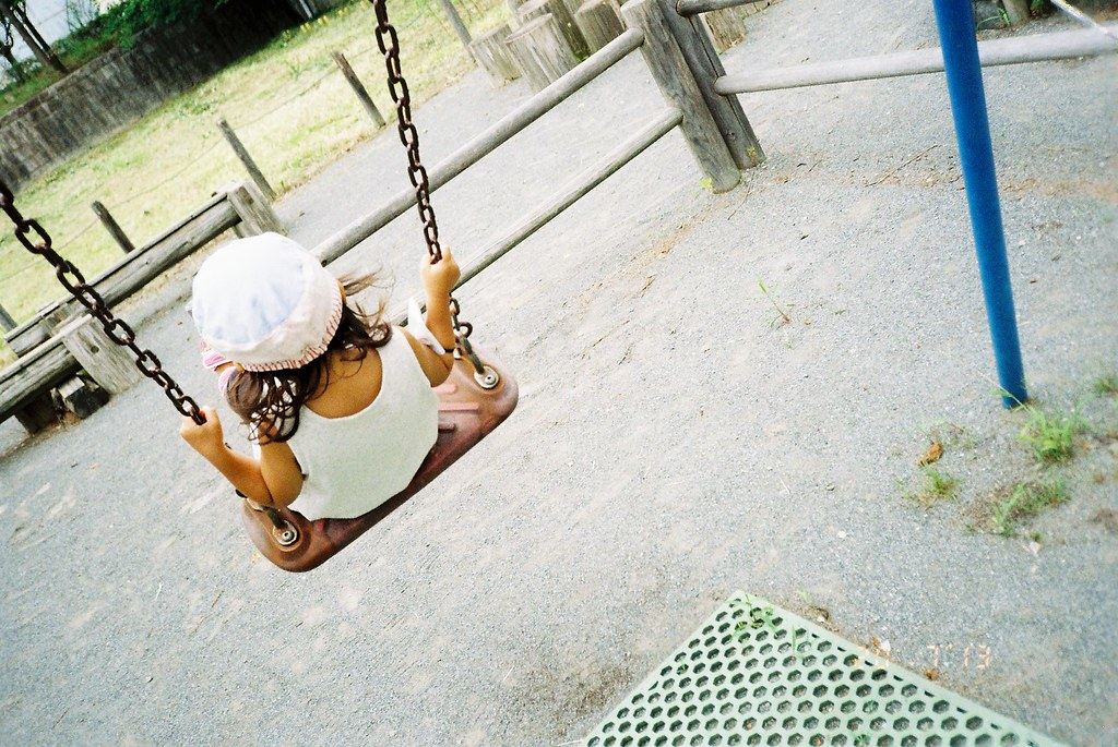 Push me on the swing