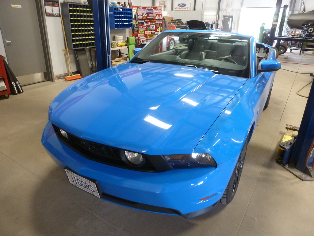 2012 ford mustang gt convertible wicked garage inc for Garage ford denney 90