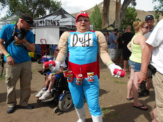 The Duff Man at CO Brewer's Rendezvous