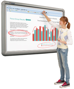 QOMO HiteVision Interactive Basic Whiteboard BW
