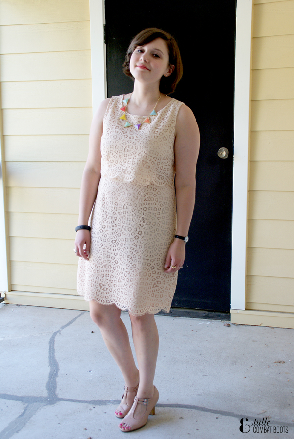 lace jcrew dress