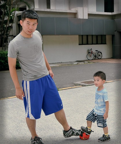 Coach and little player