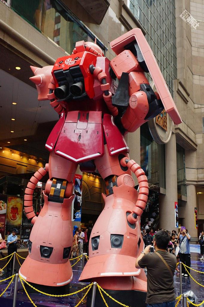 钢普拉 高达 RX-78-2 扎古 香港 红色有角三倍速 钢普拉