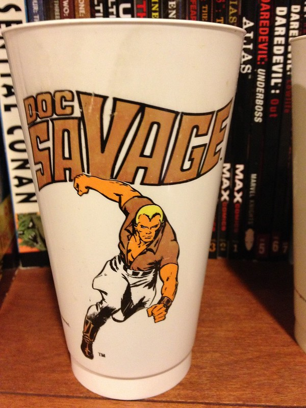 Doc Savage Slurpee Cup